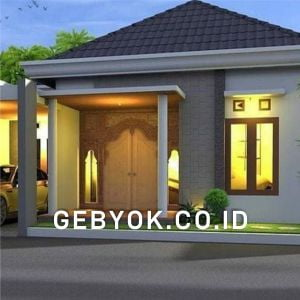 Rumah Gebyok Minimalis Modern