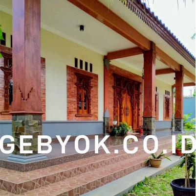 Model Rumah Gebyok Joglo Modern Minimalis