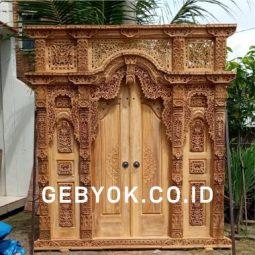 Model Pintu Rumah Gebyok Terbaru Minimalis